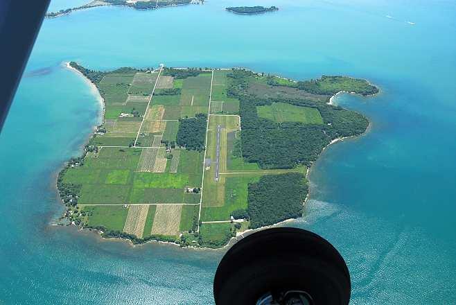North Bass Island, Ohio - Aerial Photos