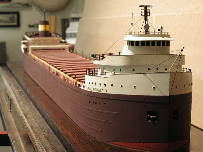 Great Lakes Ship Models - Put-in-Bay, Ohio, Ships were the Luxury Hotels of their Day